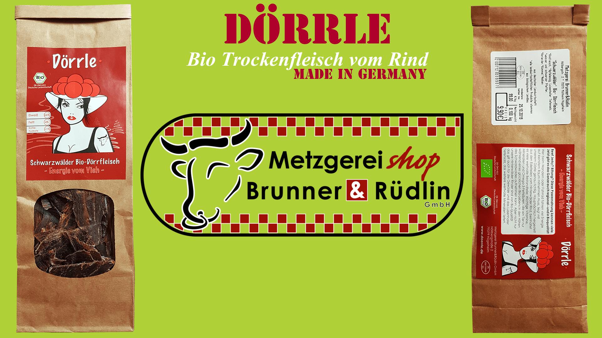 Dörrle - BioTrockenFleisch
