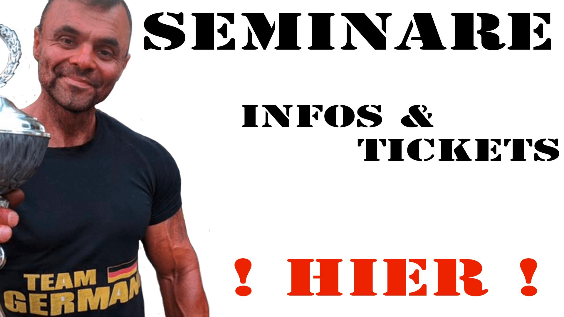 SEMINARE - Infos-&-Tickets