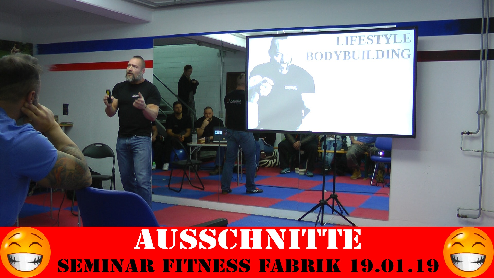 Video: Trailer - Ausschnitte aus dem Seminar Bodybuilding Lifestyle