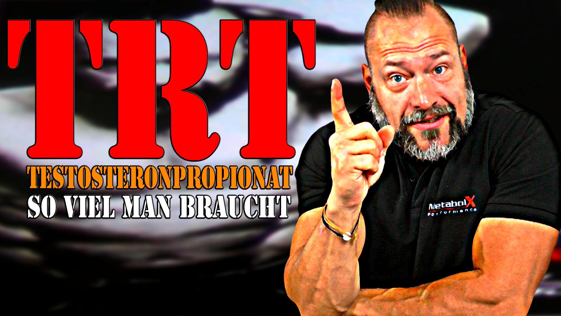 Video: TRT - So viel Testosteron Propionat wie man braucht
