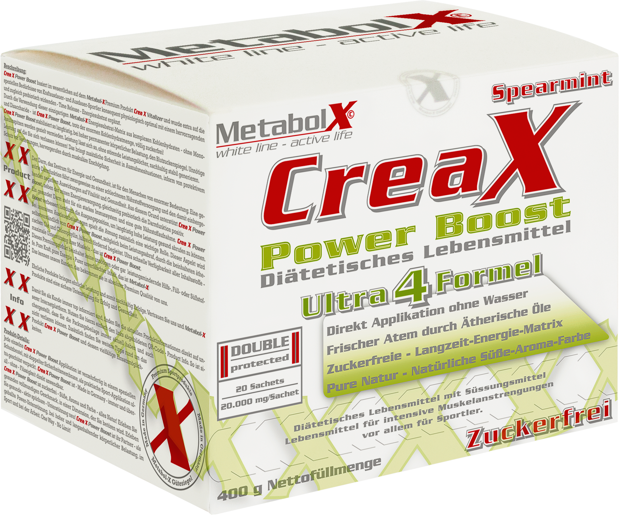 Crea-X Power Boost - Schachtel vorne